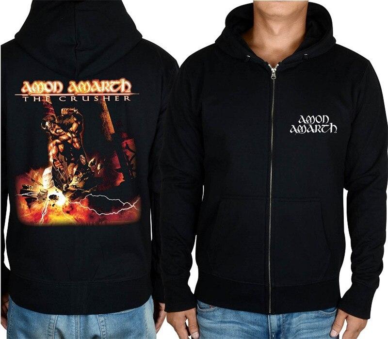 21 конструкции Амон рок молния хлопковые толстовки куртка sudadera панк тяжелый металл 3D череп флис Викинг Толстовка - Цвет: 10