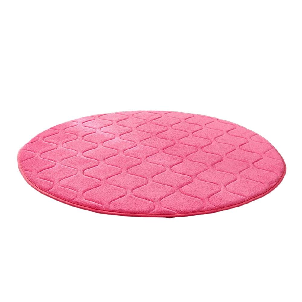 Коралловая шерсть мульти-цветной коврик для утолщения мусульманский для молитвы инструмент медитации подушки для медитации поклонение коврик чайная церемония - Цвет: peach red