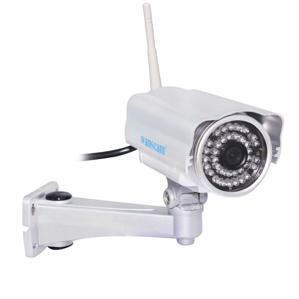 все цены на Wanscam HW0022 HD 720P 1.0 Megapixel Waterproof  IP Camera H.264 Wireless Wifi IR Night Vision Web Camera Bullet Camera онлайн