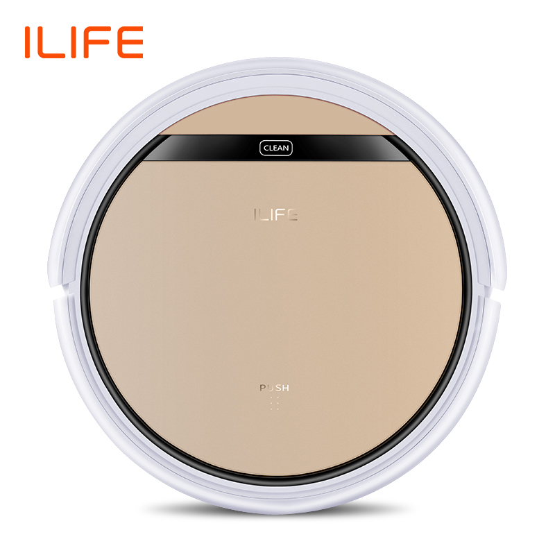 ILIFE V5s Pro robot vacuum cleaner, updated wet cleaning, floor washing, new house sweeping cleaning,  working time longer  slipper