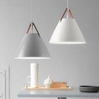 Современная светодио дный светодиодная люстра Nordic home подвесное освещение светильники столовая подвесные светильники Лофт освещение спаль