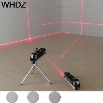 1 PC 4 w 1 laser podczerwony poziom laser krzyżowy taśmy z 2 5m taśma miernicza laser wielofunkcyjny narzędzi na poziomie tanie i dobre opinie BSIDE Pionowe i Poziome Lasery 2 linie H 63mm W 35mm L 188mm 650nm-680nm 0 01 LIZ000010