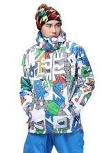 Free shipping Winter Men s Waterproof Hiking outdoor Skiing Jackets Wear Coats Snowboard jacket Outerwear sports
