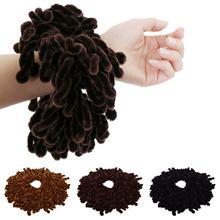 Muzułmanki Twist Scrunchie gumki do włosów hidżab szalik nakrycia głowy opaski do włosów zespół elastyczny Turban chusta na głowę chustka akcesoria
