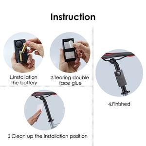 Image 5 - Free Shipping Black 1 Set Remote Control Bicycle Electromobile Security Vibration Warning Alarm System Bike Anti Lost Reminder