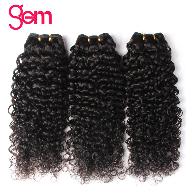 Peruvian Curly Hair Bundles 1/3/4 Pieces Human Hair Extensions 10