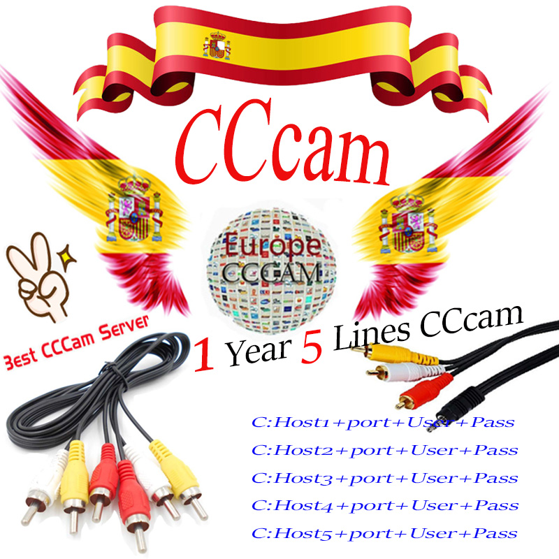 best cccam 10 lines for 1 year european france portugal spain ccccam