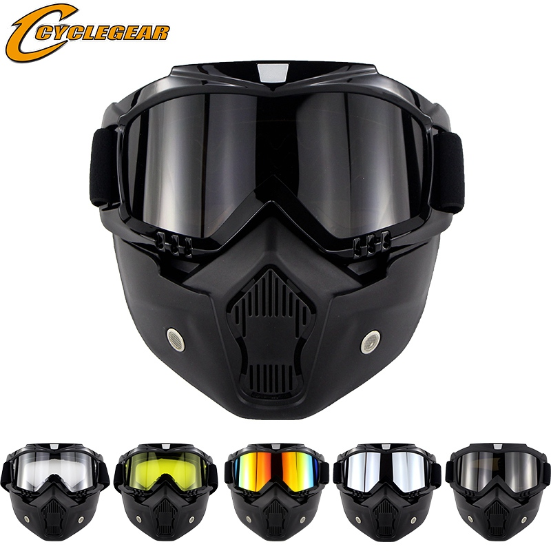 10 sztuk hurtownie CS maska gogle Motor Bike gogle sportowe jazdy na nartach Gafas deskorolka Gafas otwarty kask okulary CG12