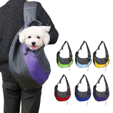 цена на @HE Breathable Pet Dog Carrier Travel Tote Single Shoulders Bags Outdoor Pet Dog Cat Front Carrier Mesh Comfort Travel Bag