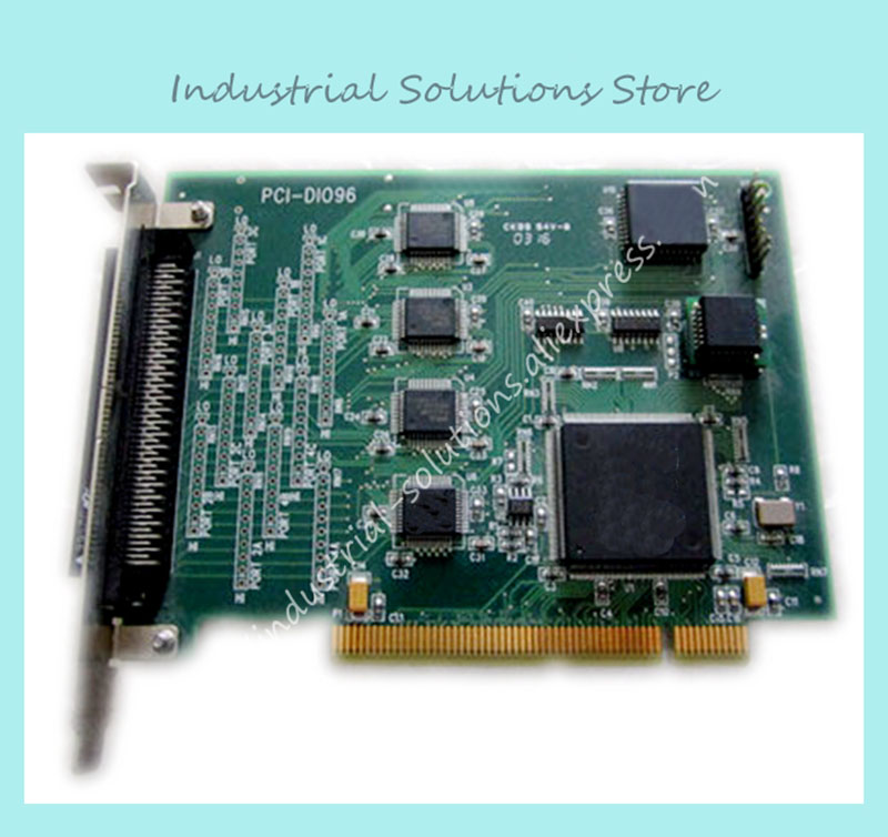 Industrial motherboard USA PCI-DIO96 well tested working original motherboard for atom n270 1 6g miniitx well tested working