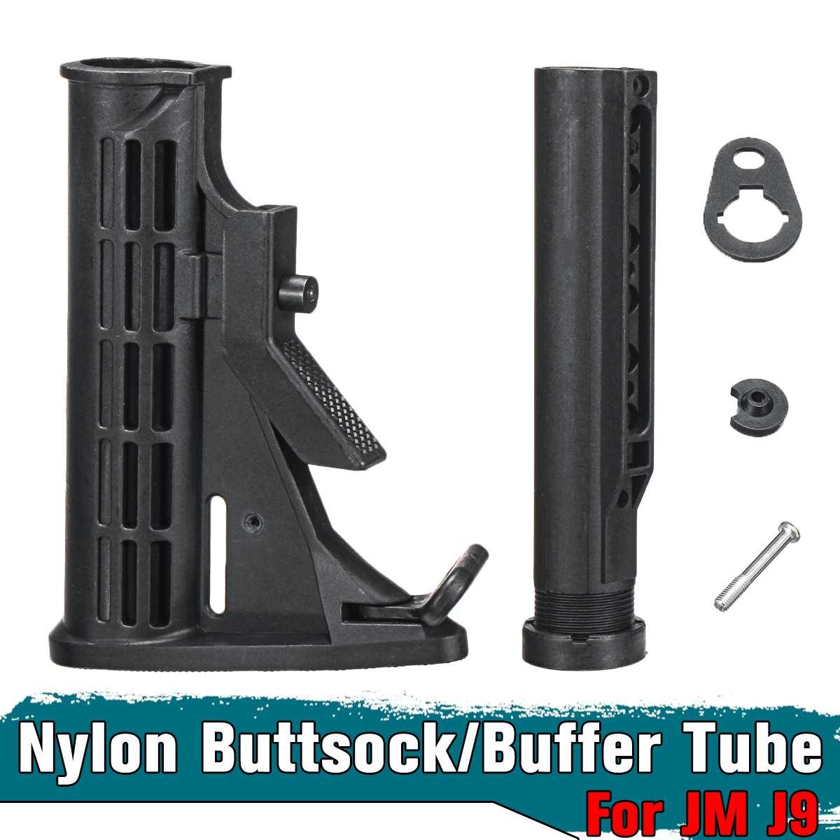 Upgrade Metal Buffer Tube For JinMing Gen8 M4A1 Gel Blaster Gun Toy Accessories