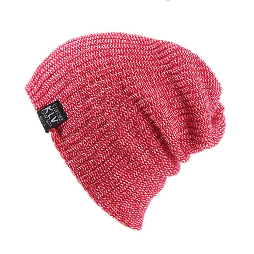 Postal Worker Flag Women and Men Knitted Hat Comfortable Pure Color Hat
