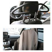 Губка вешалки из нержавеющей стали материал автомобильных автомобиля висит костюм автомобилей вешалка крепленийсертификаты