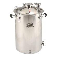 14Gal кипятильный, промышленный бак для пищевого производства, резервуар для винокурни нержавеющая сталь 304