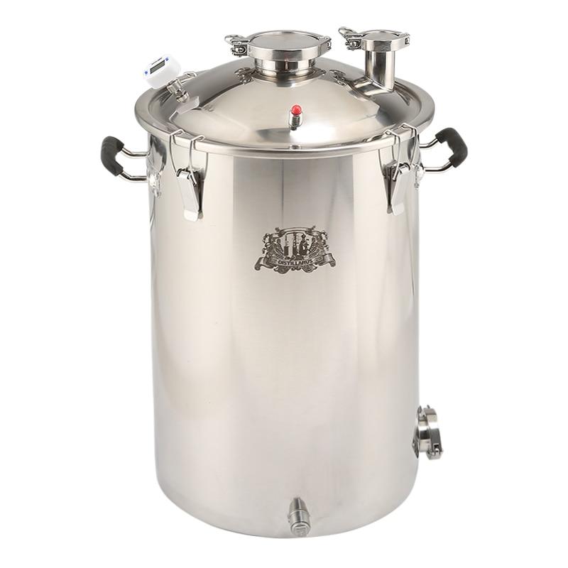55L (14Gal) chaudière, cuve de brassage, cuve de distillerie en acier inoxydable 304