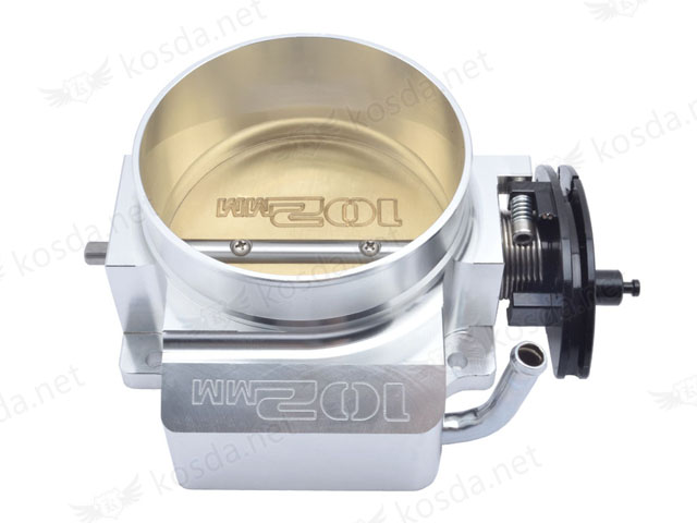 цены Aluminum 102mm Throttle Body For GM LS1 LS2 LS3 LS6 LSX TB1021S