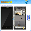 High quality Replacement for Nokia lumia 925 lcd display with touch screen digitizer with frame assembly+free tools black color