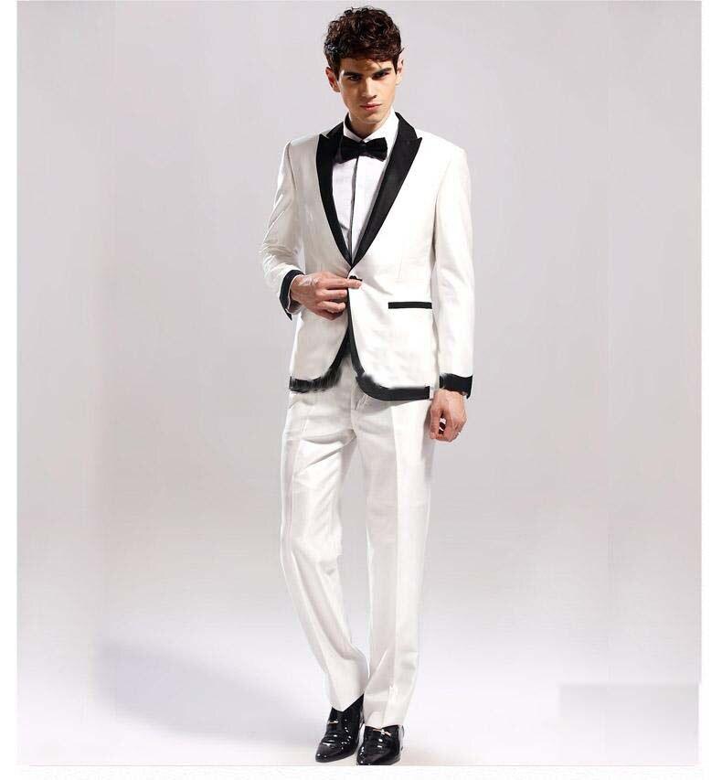 Wonderful All White Tuxedos Prom Gallery - Wedding Dress Ideas ...