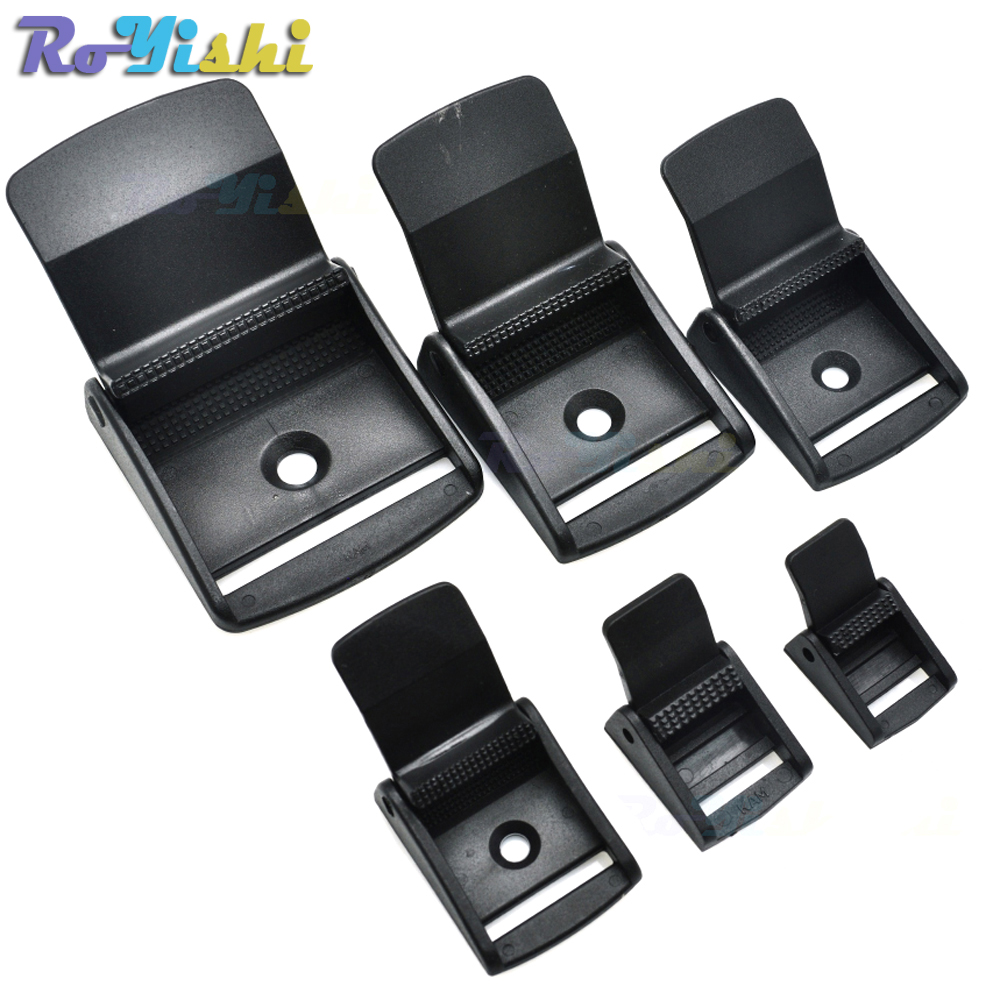 25 mm Multi-size Cam Buckle Webbing Buckle Plastic Adjustable Buckles Toggle Clip