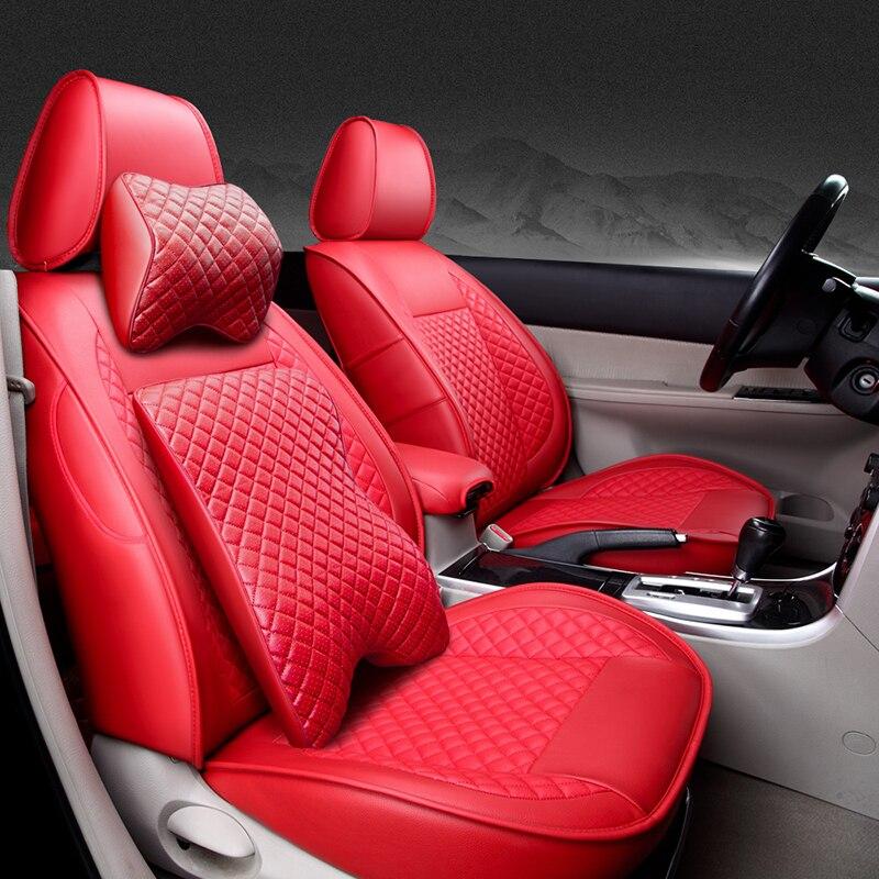 Speciale In Pelle di Alta qualità copertura di sede dell'automobile Per Audi A6L R8 Q3 Q5 Q7 S4 RS Quattro A1 A2 A3 A4 A5 A6 A7 A8 auto accessori