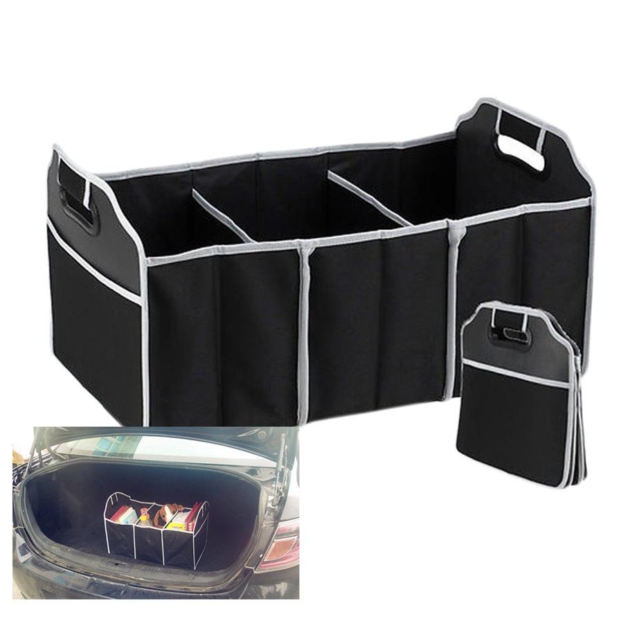 Car Organizer Automobile Stowing Tidying Car-styling Boot Stuff Food Storage Bags Trunk Organiser Folding Collapsible Hot