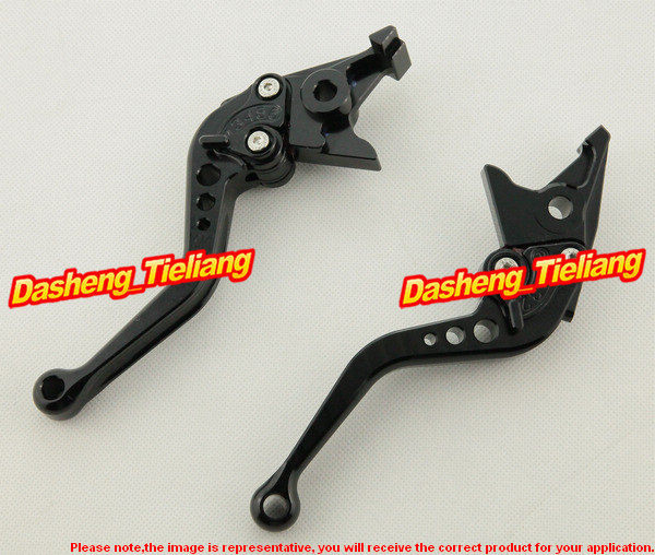 Adjustable Short Brake Clutch Levers For Honda 2004 2005 2006 2007 CBR1000RR Motorcycle Spare Parts Accessories aftermarket free shipping motorcycle parts brake clutch hand lever for honda cbr1000rr cbr 1000 2004 2005 2006 2007 carbon