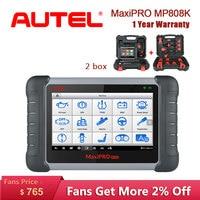 Autel MaxiPRO MP808K OBD2 Scanner Auto Diagnostic auto Tool OBD car diagnostic auto scania scaner automotriz profesional vag com