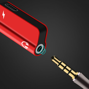 Image 2 - 2 stücke zusammen USB Typ C Audio Kabel Adapter Typ C zu 3,5mm jack Audio Splitter kopfhörer für samsung S9 Huawei Mate20 Xiaomi