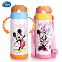 Disney kinder Tasse baby baby Stroh Becher Tasse mit griff dicht tasse kind wasserkocher