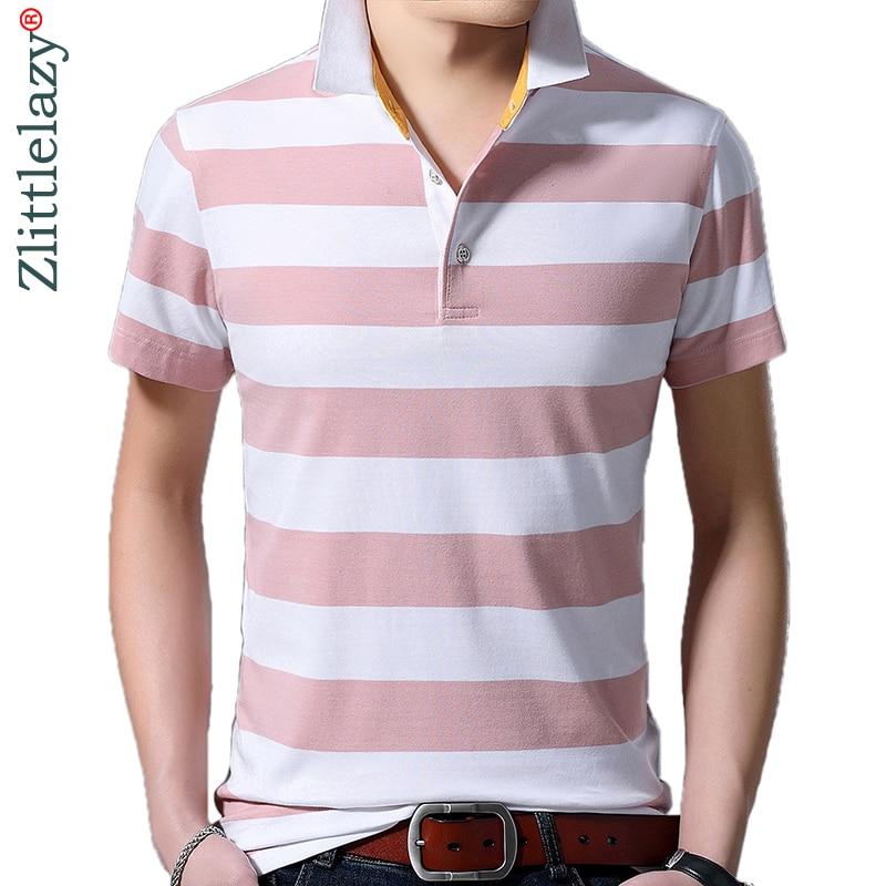 2019 brand casual summer striped short sleeve   polo   shirt men poloshirt jersey luxury mens   polos   tee shirts dress fashions 52019