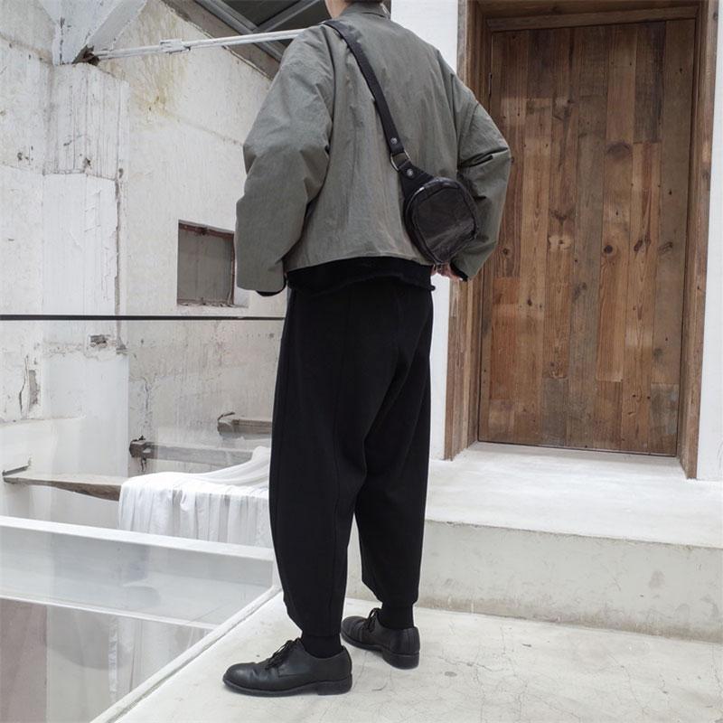 Unie Décontractée Femelle gray Style Manteau xitao Couleur Veste Poche Bouton Pleine Black Unique Femmes Lâche Corée Dll1468 Manches Dll1468 Printemps Épaisse xwaRBq7v