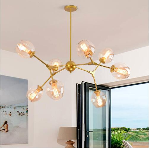 все цены на Modern Glass Ball Pendant Lights Lampshade Pendant Lamp Kitchen Hanging Lamp Light Fixture Lustre de Led Ceiling luminaire