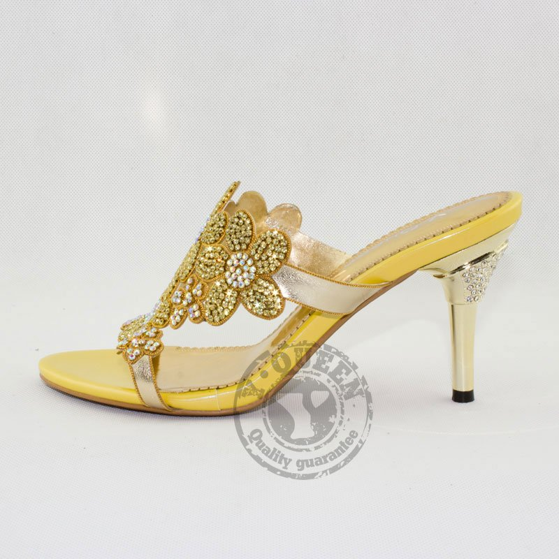 Brand Designers Pakistan Open Toe Sandals Womens High Heel Summer Style 2015 Woman Shoes Rhinestone Ladies Floral Party In From