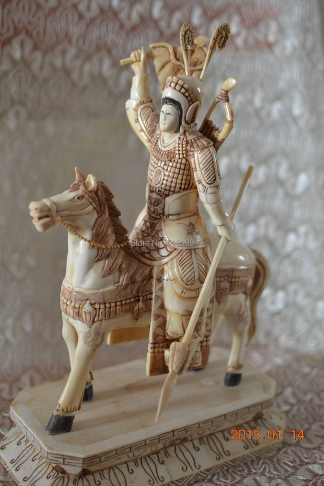 Bone Warriors Bone General Bone Figurine Bone Carvings Bone Horse Bone Statues Statue Carving Statue Ceramicstatues Religious Aliexpress