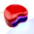 3 W 110-220 V En Forma de Corazón Portable UV LED Lámpara de Uñas Secador de Uñas arte Kit de Uñas de Arte UV Luz Lámpara Gel Que Cura el Secador Polaco herramientas