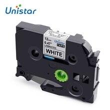 Unistar tze 231 tz231 TZe-231, совместимая с Brother P-touch, лента для этикеток, 12 мм, многоцветная, для PT-H110, PT-D600, PT-1000, производитель этикеток