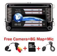 RNS 510 car radio for Volkswagen Golf Polo Passat b6/b7 Tiguan octavia with 3G GPS Bluetooth Radio USB SD Steering wheel Control