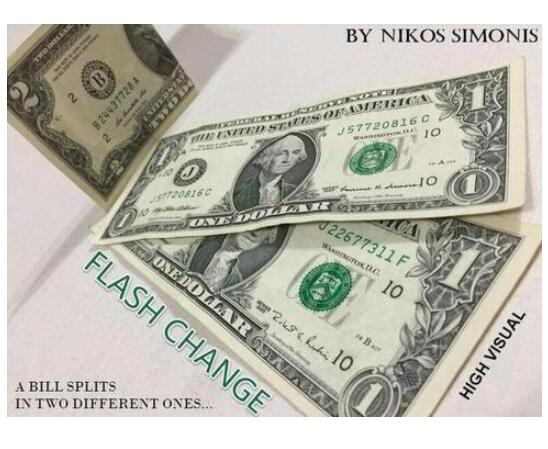 Flash Change By Nikos Simonis - Magic Tricks