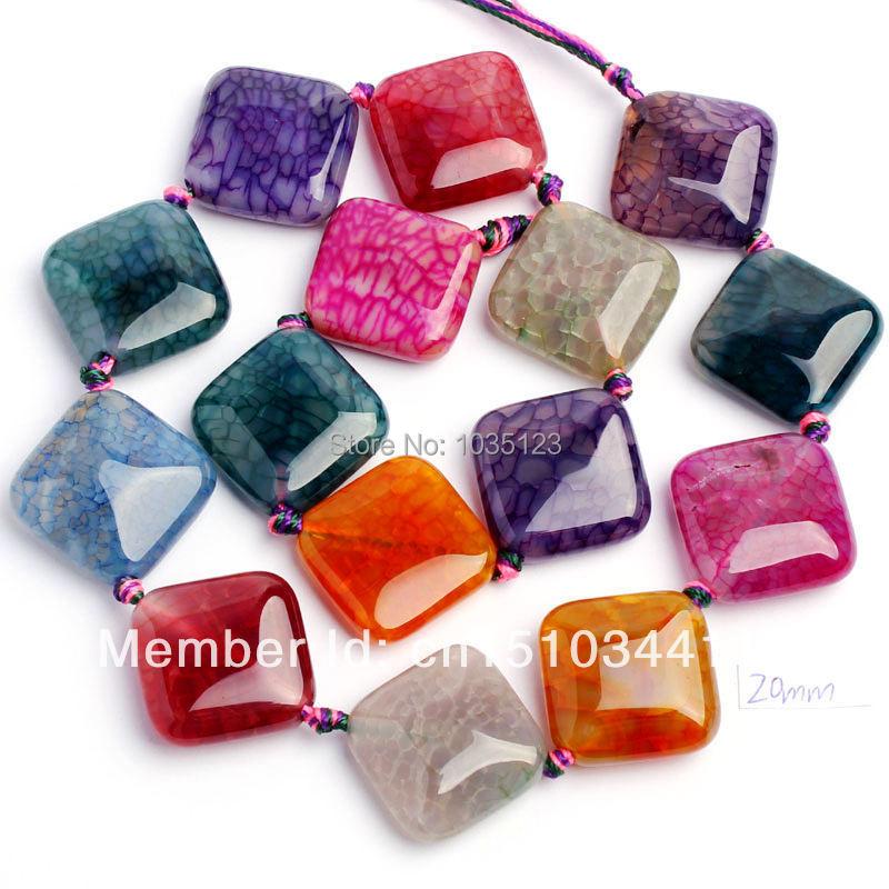 Bright shell leaf beads pendant mix leaves 12mm UK seller C42
