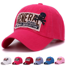 Classic men baseball cap 100% sand washed cotton embroidery patch outdoor soft baseball hat and cap for men and women