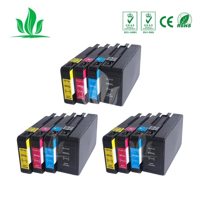 3 ensembles 950XL Compatible pour HP 950XL HP950 Cartouche D'encre pour Officejet Pro 8600 8610 8615 8620 8630 8625 8660 8680 Imprimante