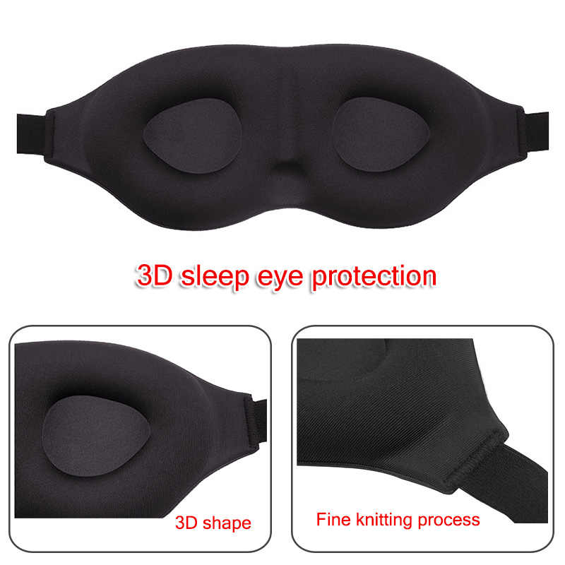Sleep Eye Mask Soft 3D Memory Foam Padded Home Travel Sleeping Blindfold Shade Cover Dropshipping DFA
