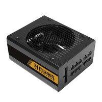Mosunx Bitcoin Mining Machine 1600W Modular Power Supply For 6 GPU Eth Rig Ethereum Coin Mining