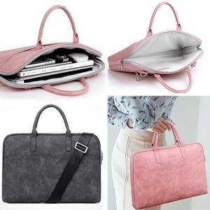 Модная новая сумка через плечо для ноутбука 13 14 15 дюймов чехол для ноутбука MacBook Pro Air ASUS Acer Lenovo для мужчин и женщин