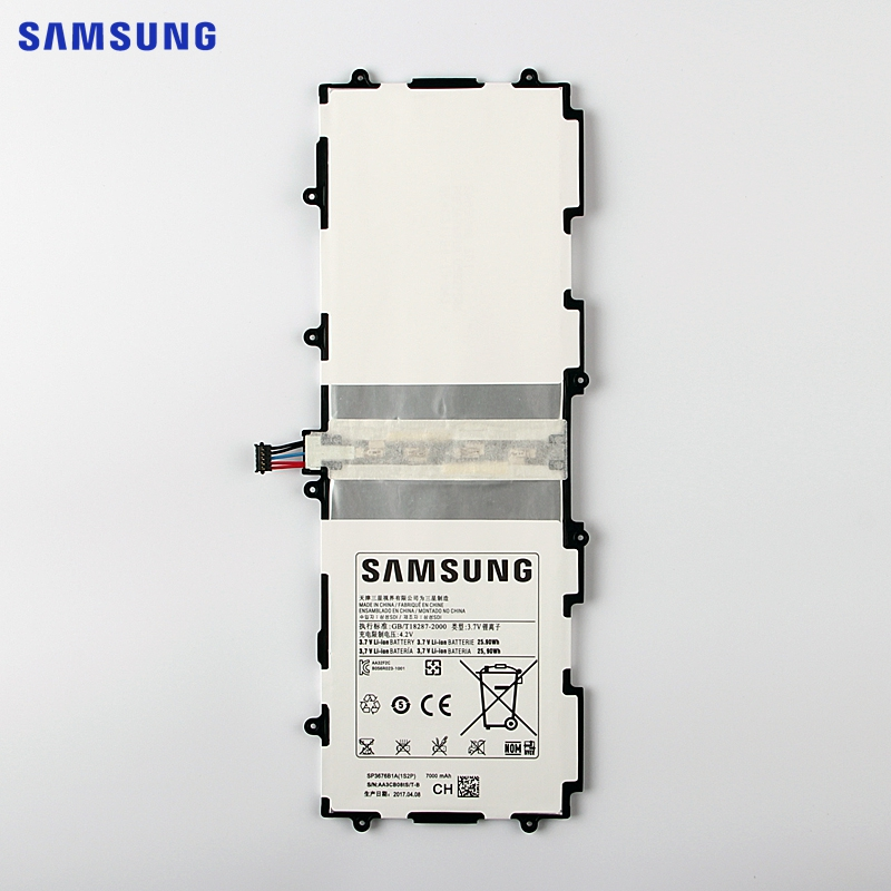 SAMSUNG Original Battery SP3676B1A For Samsung Galaxy Tab 10.1 S2 10.1 N8000 N8010 N8020 GTN8013 P7510 P7500 P5110 P5100 7000mAh