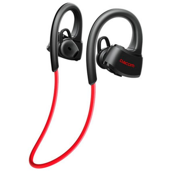 Bluetooth Casque IPX7 Étanche Sans Fil Sport Courir Casque Stéréo Musique Écouteurs Headsfree W/mic Pour la Baignade