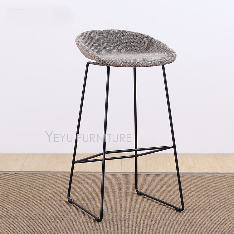 Pleasing Us 189 0 Modern Design Soft Cover Padded Loft Fashion Style Fabric Pu Leather Cover Kitchen Room Counter Stool Nice Popular Bar Stool In Bar Gmtry Best Dining Table And Chair Ideas Images Gmtryco