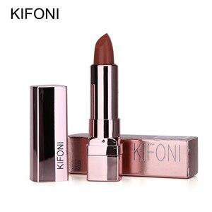 Image 4 - New Arrival KIFONI brand makeup beauty matte lipstick long lasting tint lips cosmetics lip stick maquiagem make up red batom
