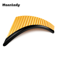 Right/Left Hand Folk Instrument UU ABS Plastic Panflute 22 Pipes G Key Woowind Instrument Panpipes Flauta Handmade Pan Flute