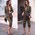 Новая Мода Fomal Женщины Секс V воротничков Клубная Одежда Лето Playsuit Bodycon Комбинезон Romper Брюки ВАЙОМИНГ-01